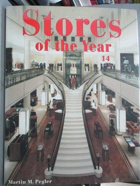【書寶二手書T7/設計_XEH】Stores of the Year 14_Pegler, Martin M.