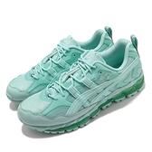 Asics 野跑鞋 Gel-Nandi 360 X GmbH 男鞋 聯名款 綠 湖水綠 限量【ACS】 1021A415401