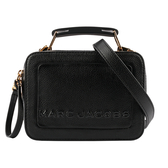 【MARC JACOBS】The Textured Mini Box Bag相機包(黑) M0014840 001