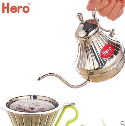 手衝壺不銹鋼家用細嘴壺咖啡手衝咖啡壺細口壺長嘴細口壺