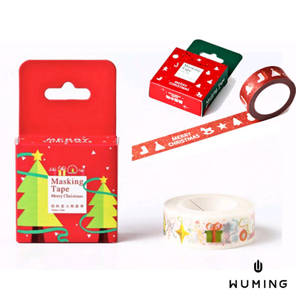 聖誕 手作 紙膠帶 手撕 麋鹿 雪人 雪花 聖誕樹 交換禮物 非 拍立得 耶誕卡片 賀卡 『無名』 J12106