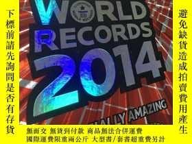 二手書博民逛書店Guinness罕見World Records 2014 (硬精