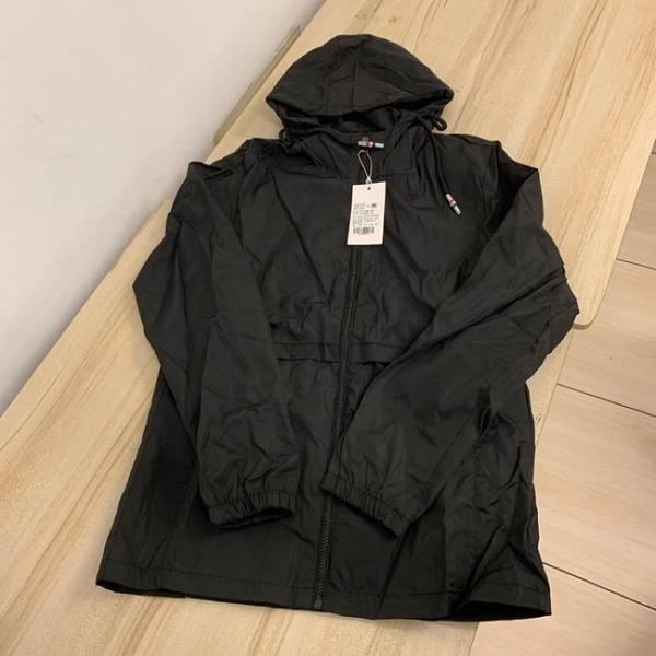 基本款修身顯瘦休閒連帽外套(M號/121-4790)