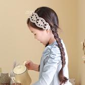 夢幻寬版蕾絲彈性髮帶 髮帶 兒童髮飾 蕾絲髮帶