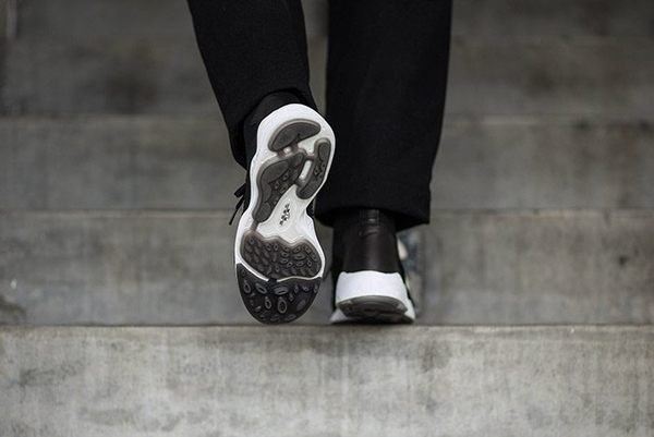 NIKE ZOOM FLYKNIT MERCURIAL 呂布二代 黑 白 編織 高筒 男鞋 2016 8月  ( 布魯克林 )  844626-001