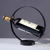 歐式創意紅酒架擺件現代簡約紅酒杯架葡萄酒瓶架子酒柜裝飾品擺件 小時光生活館