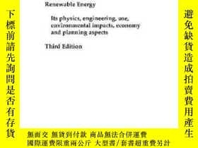 二手書博民逛書店Renewable罕見Energy Third Edition-可再生能源第三版Y436638 Bent S?