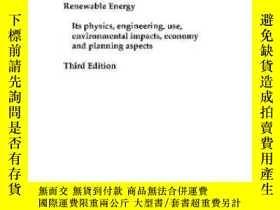 二手書博民逛書店Renewable罕見Energy Third Edition-可再生能源第三版Y436638 Bent S?
