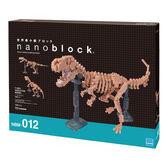 《Nano Block迷你積木》NBM - 012 暴龍骨架模型 ╭★ JOYBUS玩具百貨