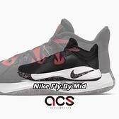 Nike 籃球鞋 Fly.By Mid 黑 紅 男鞋 基本款 運動鞋 【ACS】 CD0189-002