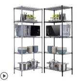 微波爐置物架 廚房置物架落地鍋架微波爐架不銹鋼用品收納架多層儲物架