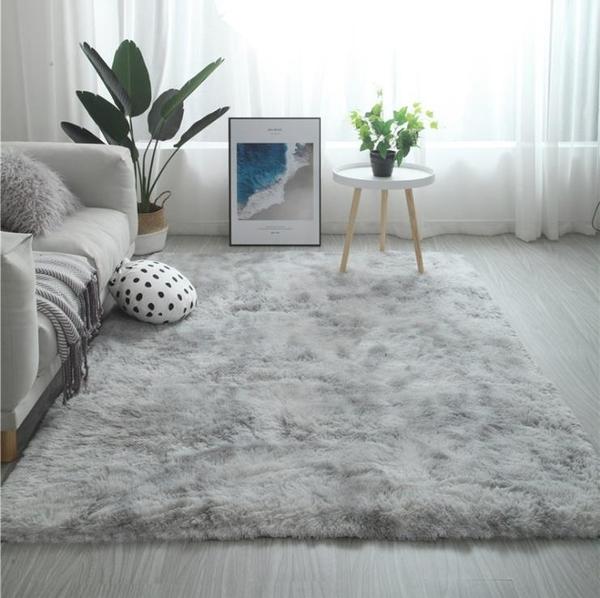 地毯北歐ins地毯客廳茶几臥室滿鋪可愛網紅同款床邊毛毯地墊子大面積【快速出貨八折下殺】