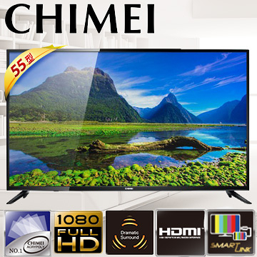 【CHIMEI奇美】55型A500系列多媒體液晶顯示器TL-55A500