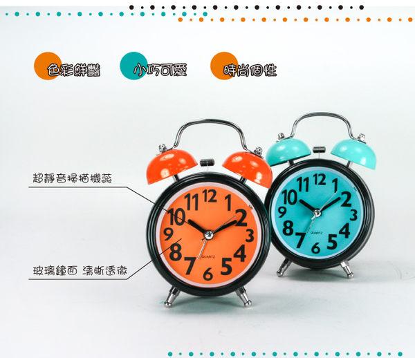 KINYO 馬卡龍雙鈴鬧鐘