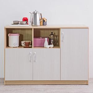 【TZUMii】時尚超大三門二格廚房櫃