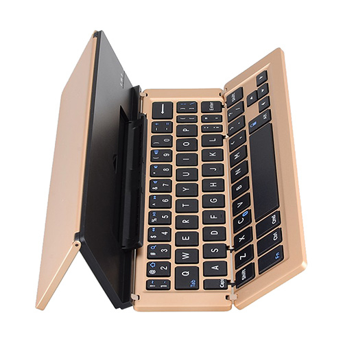 iPad / iPhone 通用輕便型鋁合金折疊式藍牙鍵盤