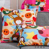兒童大靠墊可愛卡通沙發抱枕枕頭