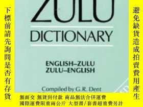 二手書博民逛書店Compact罕見Zulu Dictionary-小型祖魯詞典Y436638 G. R. Dent; Dent