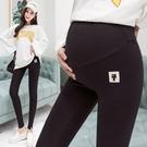 漂亮小媽咪 托腹內搭褲 【L9015】 小貓咪 孕婦 內搭褲 孕婦長褲 托腹褲 孕婦裝