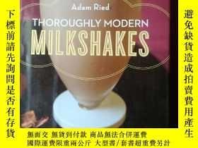二手書博民逛書店Thoroughly罕見Modern MilkshakesY16