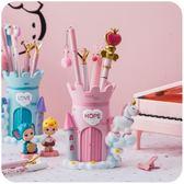 時尚創意男簡約可愛筆筒學生兒童收納盒少女心桌面擺件【快速出貨】