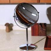 化妝鏡 雙面化妝鏡台式公主鏡桌面鏡子台面鏡高清大號放大梳妝鏡