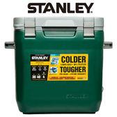 【美國Stanley】可提式Cooler冰桶 28.3L-綠色