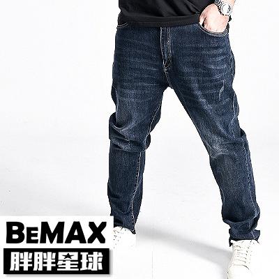 【胖胖星球】中大尺碼‧個性復古造型牛仔褲 38~50腰‧加大【108302】