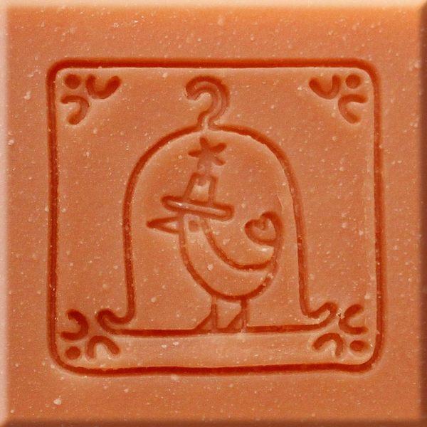 【香草工房】 風格皂章~B017有禮貌的鳥紳士