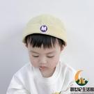嬰兒帽子可愛超萌小字母刺繡兒童地主帽寶寶春秋阿哥雅痞瓜皮帽【創世紀生活館 】