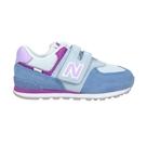 NEW BALANCE 女小童休閒運動鞋-WIDE(免運 寬楦 麂皮 574系列 NB≡體院≡ IV574SL2