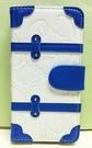【震撼精品百貨】Donald_唐老鴨~IPHONE 6掀蓋式皮套-藍白
