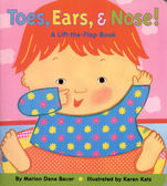 小寶寶的身體認知書TOES EARS AND NOES 硬頁翻翻書 (OS小舖)
