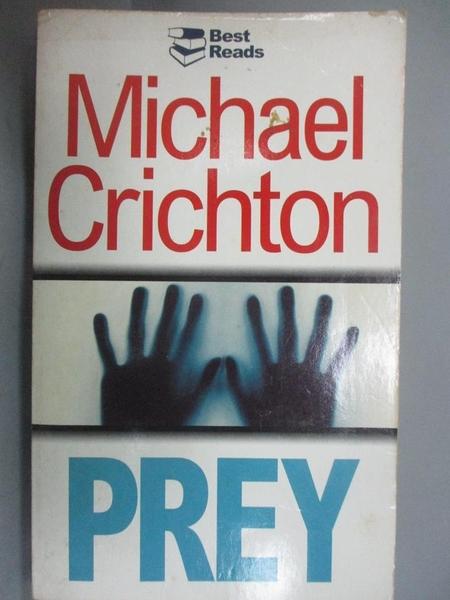 【書寶二手書T8/原文小說_HRG】Prey_Michael Crichton
