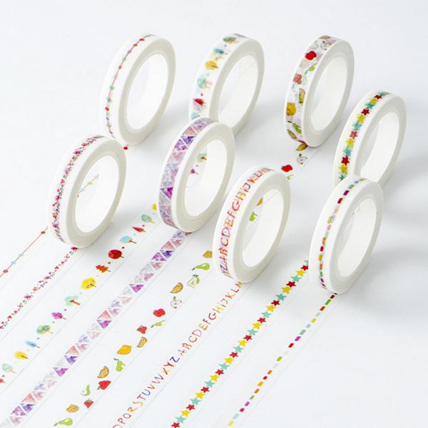 【BlueCat】MIKIMOOD創意分隔線細款 和紙膠帶