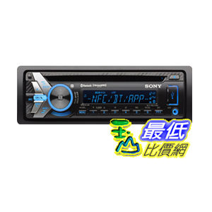 [103 美国直购] Sony MEXN5000BT NFC Bluetooth  CD Car Stereo Receiver with App Remote  $5942