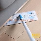 靜電除塵拖把免手洗懶人一次性拖布平板拖地【轻奢时代】