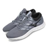 Mizuno 慢跑鞋 Wave Polaris EZ 藍 黑 低筒 舒適緩震中底 運動鞋 男鞋【PUMP306】 J1GC1982-53