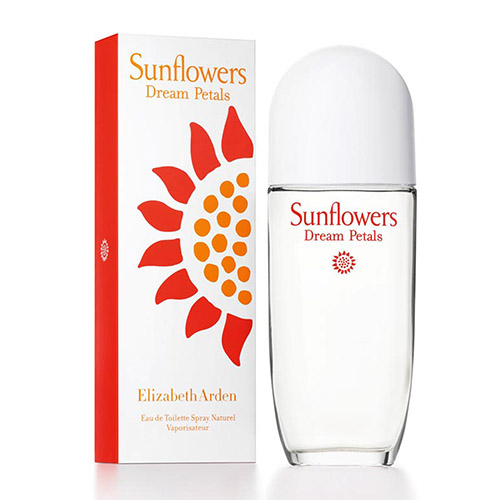 Elizabeth Arden Sunflowers Dream Petals 雅頓向日葵魅幻花瓣淡香水 100ml【5295 我愛購物】