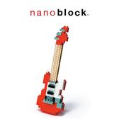 【日本 Kawada 河田】Nanoblock 迷你積木 紅色電吉他 NBC-037