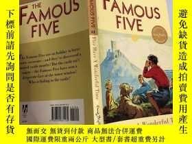 二手書博民逛書店The罕見Famous Five:Five Go Adventure Again 著名的五個:又是五 次冒險.奇