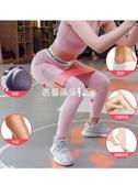 INS圈阻力帶環翹臀圈瑜伽健身彈力帶男女瘦腿深蹲防滑不卷邊 『快速出貨』