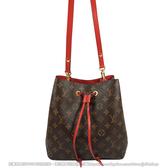 Louis Vuitton LV M44021 Neonoe 經典花紋肩斜兩用水桶包 全新 現貨【茱麗葉精品】