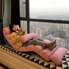懶人沙發榻榻米折疊躺椅床單人臥室房間小可愛女生網紅款椅子快速出貨
