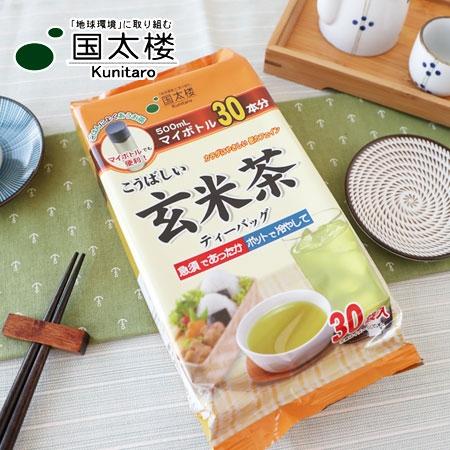 日本 國太樓 德用經濟包 玄米茶 (30入) 90g 沖泡 日本茶 沖泡飲品