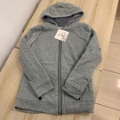 內刷毛修身顯瘦連帽運動外套(M號/121-4942)