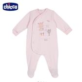 chicco-粉彩-小兔前側開兔裝-粉