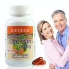 【Candice】康迪斯活力大豆卵磷脂膠囊Soy Lecithin 1200mg (60顆/瓶)