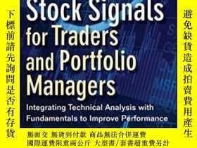 二手書博民逛書店Successful罕見Stock Signals For Traders And Portfolio Manag