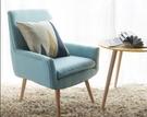 懶人沙發餵奶椅簡約現代房間單人沙發躺椅臥室可愛女孩陽臺小沙發 小山好物